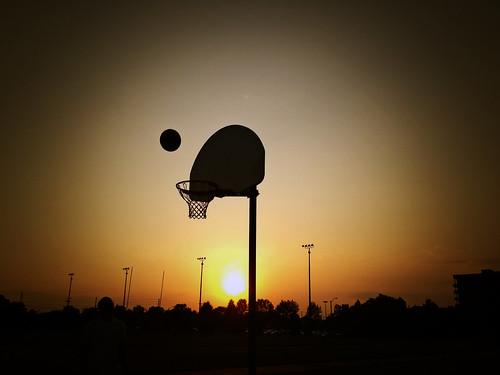 Hoop Dreams | Another good evening with friends playing ...