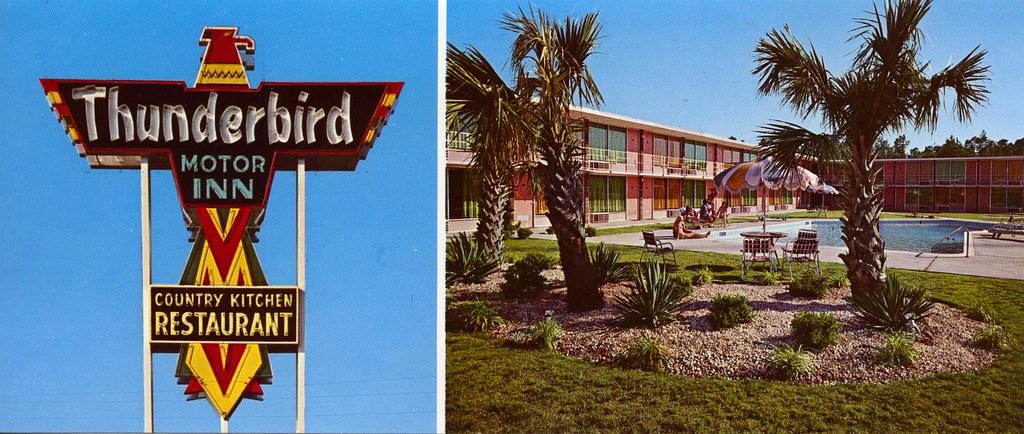 Thunderbird Motor Inn Florence Sc I 95 At U S 52 Exit