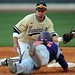 365@VU: 145 - Vanderbilt infielder Anthony Gomez tags out an Evansville runner