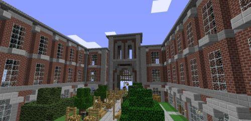 Minecraft University | Vetropolis University, located west