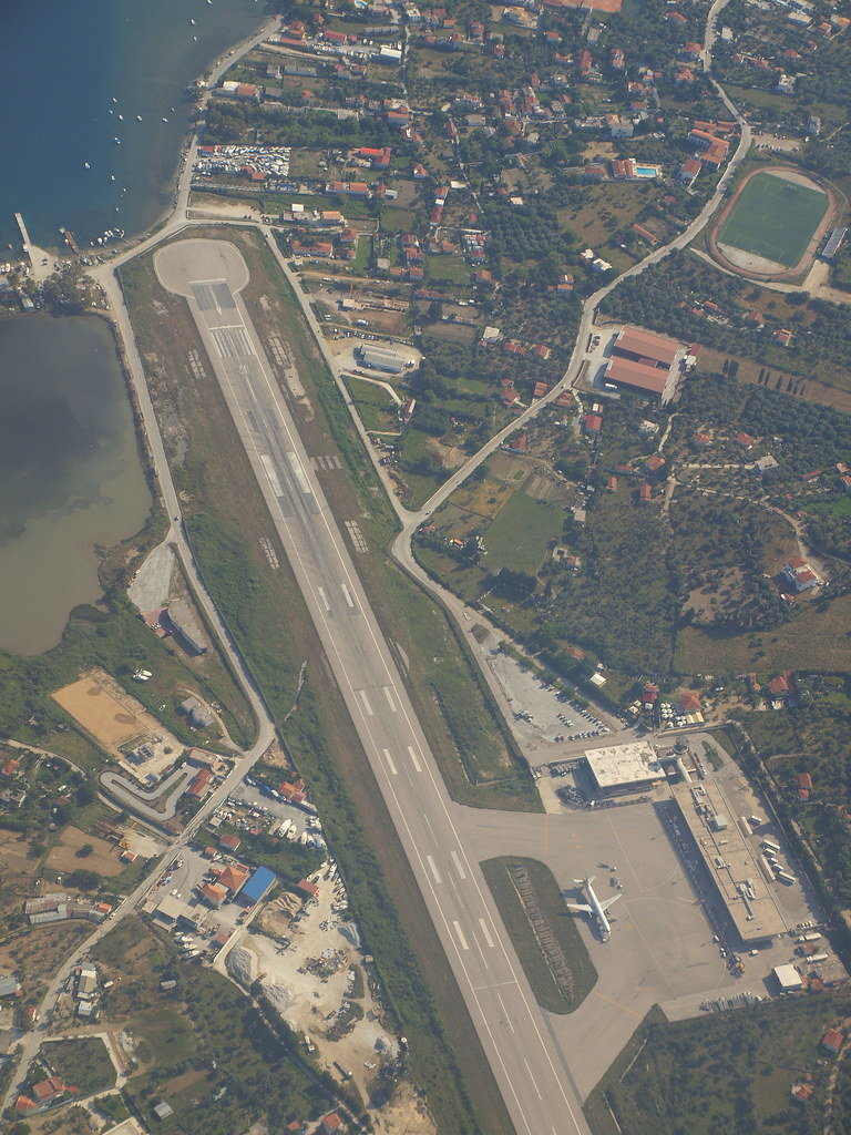 Skiathos Airport Left Turn After Departure From Rwy20