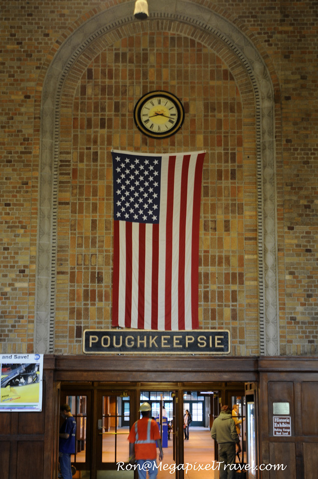 Exterior: Train Station - Poughkeepsie, NY.