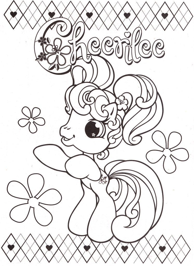 My Little Pony Coloring Pages 53