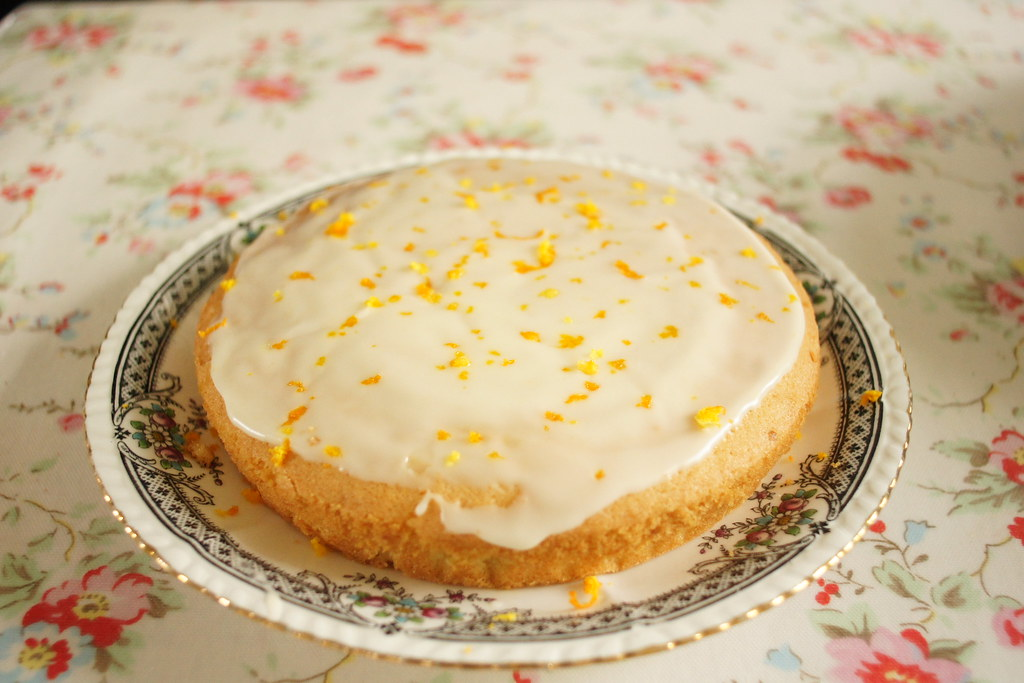 Orange Drizzle Cake Nadiya