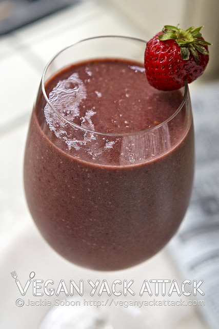 Berry Banana Smoothie | Flickr - Photo Sharing!
