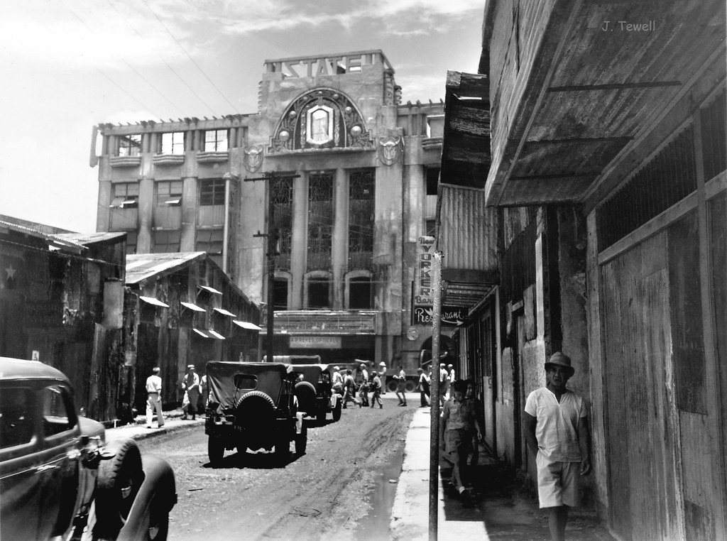 The State Theater, Rizal Avenue and Bustos Street, Manila ...