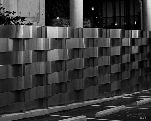 Parking garage fence flickr photo sharing for Garage fence