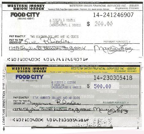 Wu money tracking