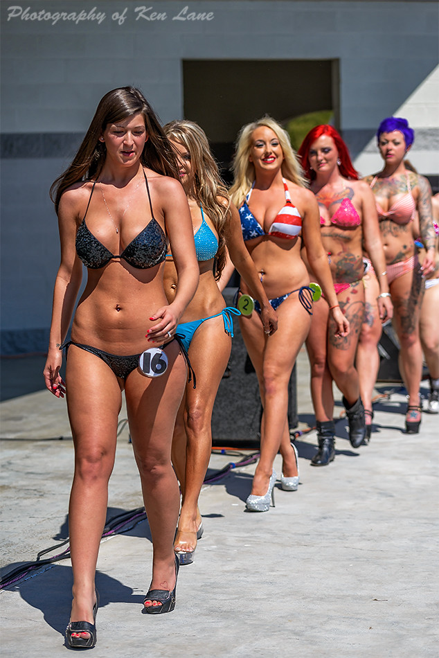Happy miss wcw bikini contest winner wife