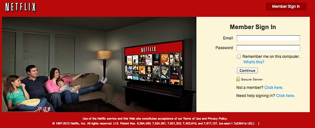 Netflix - Member Login | Sign In To Your Account | Flickr ...