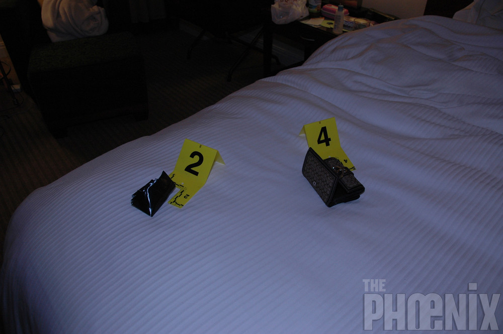 Craigslist Killer Crime Scene Photos, Westin Hotel, April ...