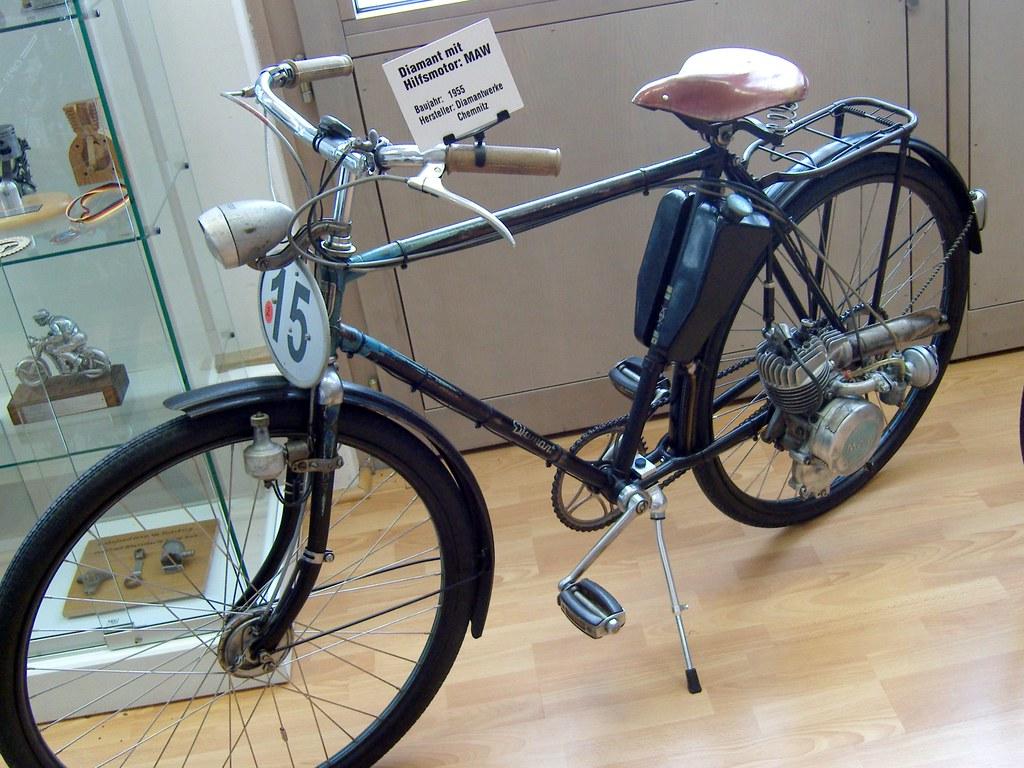 diamant fahrrad mit maw fahrradhilfsmotor. Black Bedroom Furniture Sets. Home Design Ideas