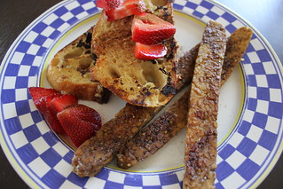 Vegan French Toast | by thejustdish