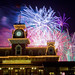 Fireworks Above Main St Station