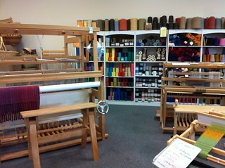 Shuttles, Spindles and Skeins -- loom room | by sweetgeorgia