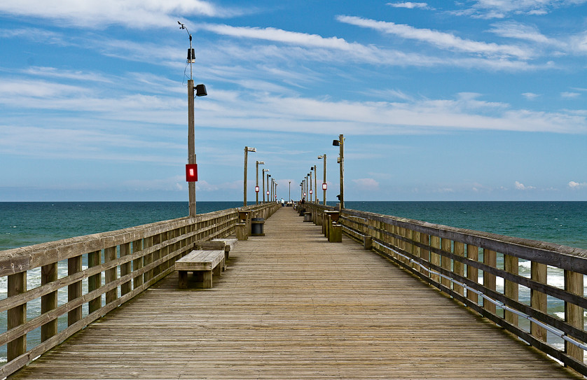 topsail island surf city nc fishing pier for prints