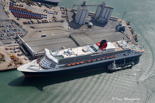 Queen Mary II, Eastern Docks, Southampton, England. | by Tony Margiocchi (Snapperz)