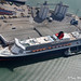 Queen Mary II, Eastern Docks, Southampton, England.
