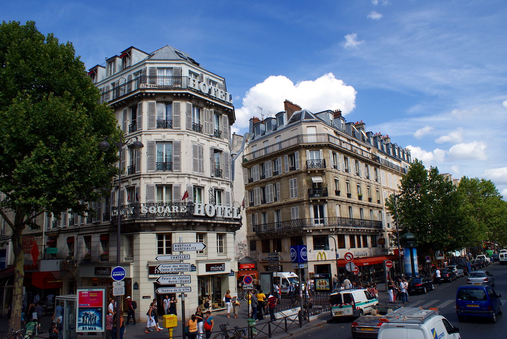 Hotel Boulevard St Michel Paris