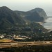 Fureai Farm (Hachijo-jima) / ふれあい牧場から大坂トンネル方面を望む