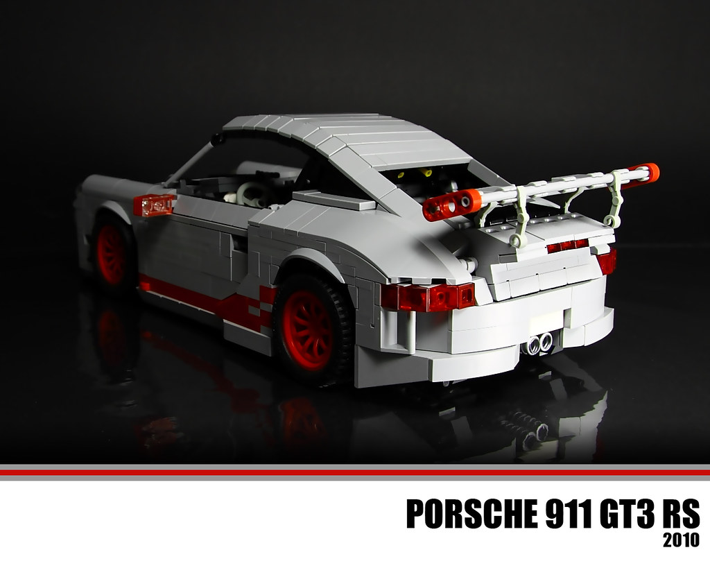 lego porsche 911 gt3 rs the porsche 911 gt3 is a higher. Black Bedroom Furniture Sets. Home Design Ideas