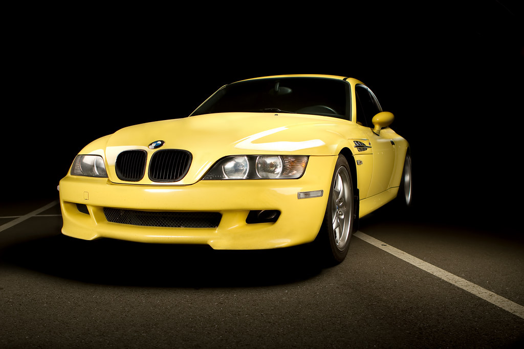 Bmw Z3 M Coupe My Dakar Yellow Bmw Z3 M Coupe Shot By