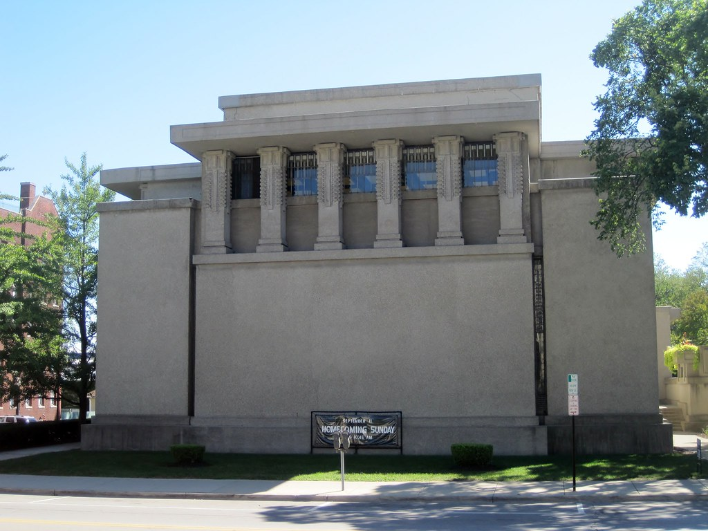 Unity Temple | Unity Temple in Oak Park, a national ...