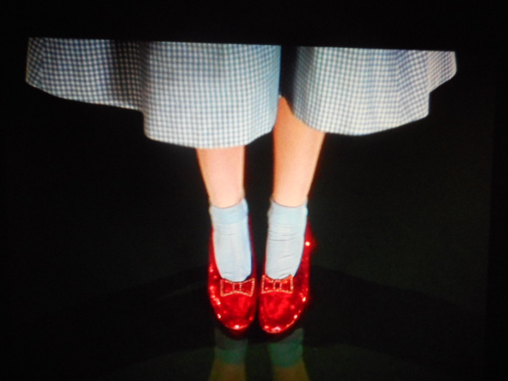 There No Place Like Home Red Shoes