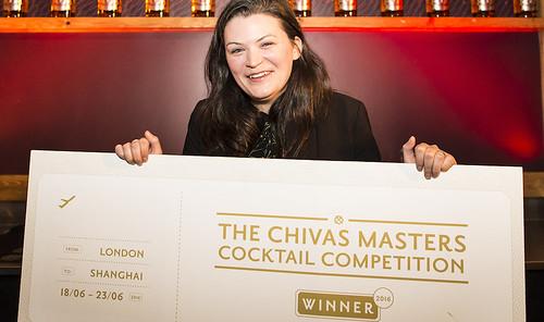 Chelsie Bailey, Winner, Chivas Masters UK Final 2016