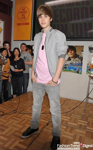 Justin Bieber fashion evolution