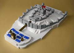 The Siege of Dover Castle 1216 by aido k