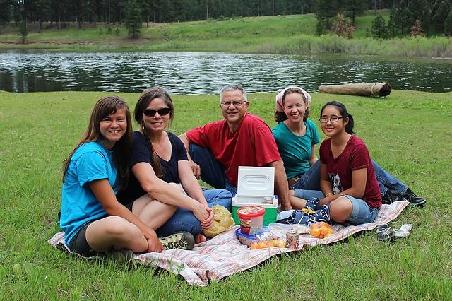 Family Picnic at Pactola