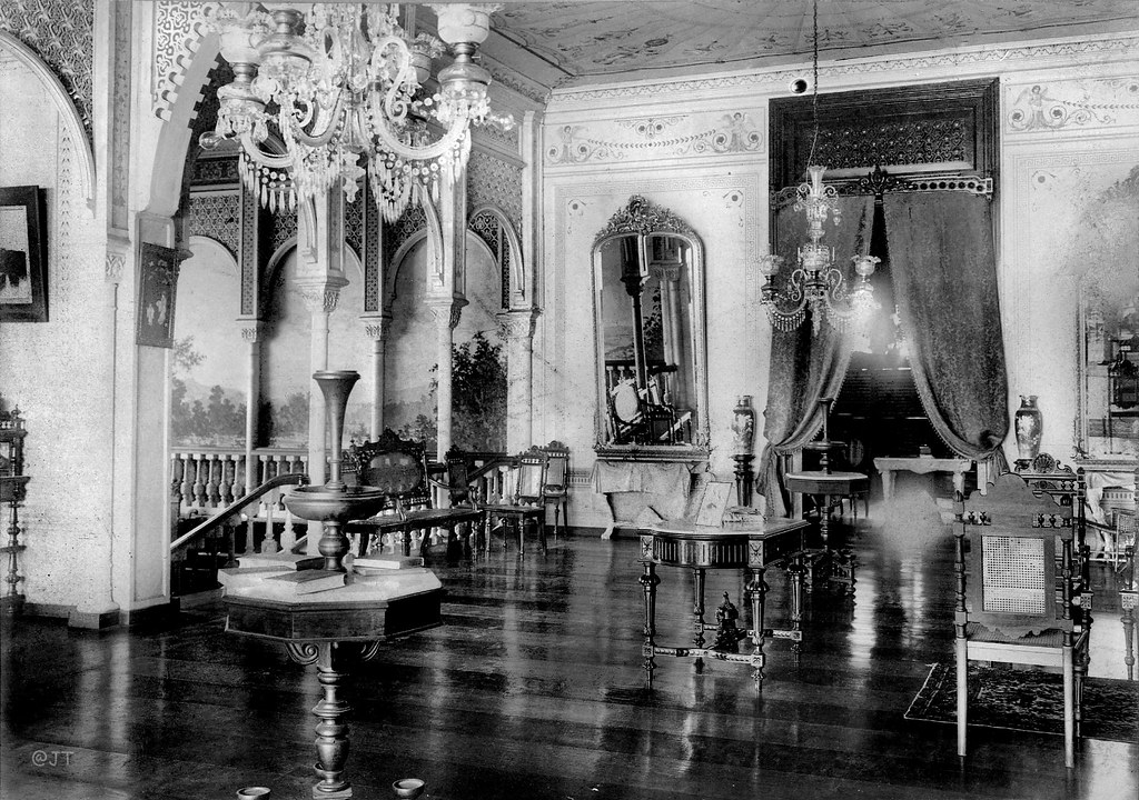 Sala In The Lawton Residence Manila Philippines 1899