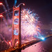 Golden Gate Bridge Fireworks: All the colors of the rainbow