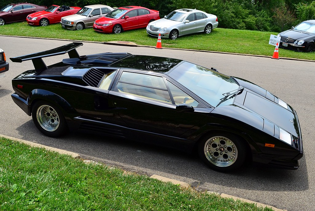 1989 lamborghini countach 25th anniversary black scott597 flickr. Black Bedroom Furniture Sets. Home Design Ideas