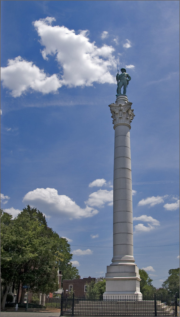 Confederate Soldiers And Sailors Monument Libby Hill Pa