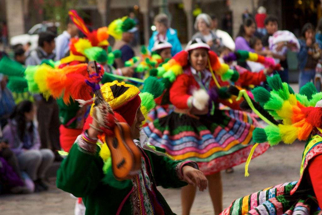 Peru Cusco 084 Traditional Andean Dance Fiesta Flickr