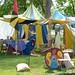 Reenactor tent row