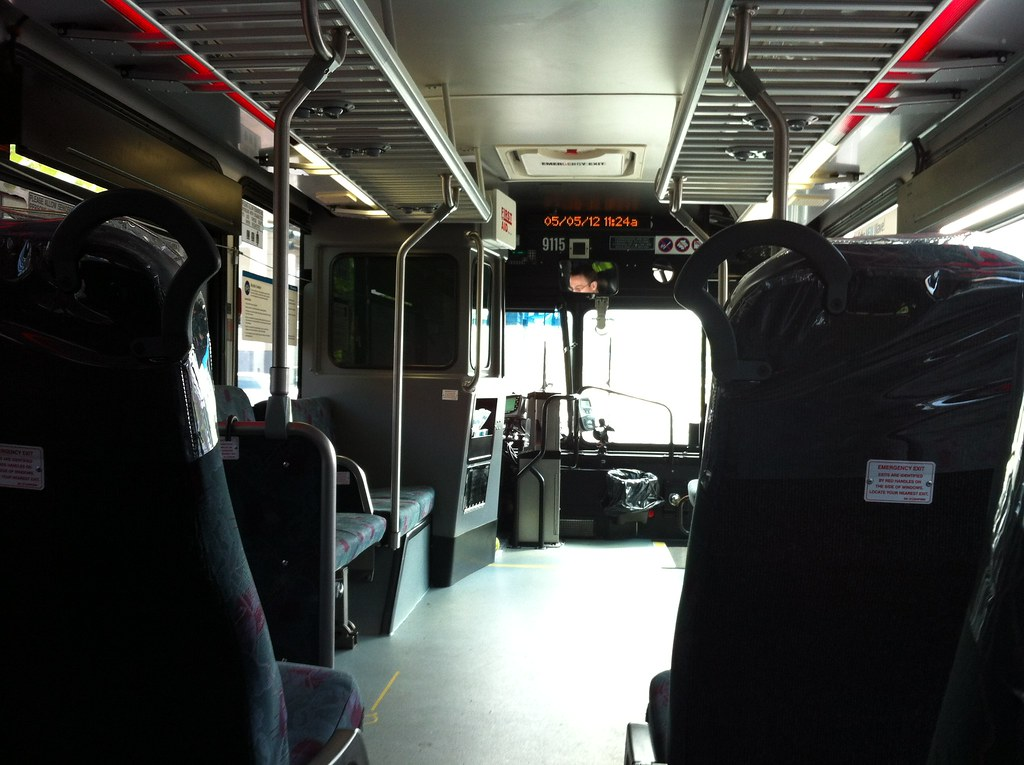 ST 9115 Gillig Interior Notice the OBS/Init PID placement ...