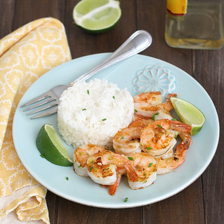 Tequila-Orange Grilled Shrimp | by Tracey's Culinary Adventures