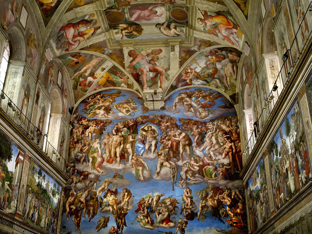 Rome Vatican Sistine Chapel Allan Flickr