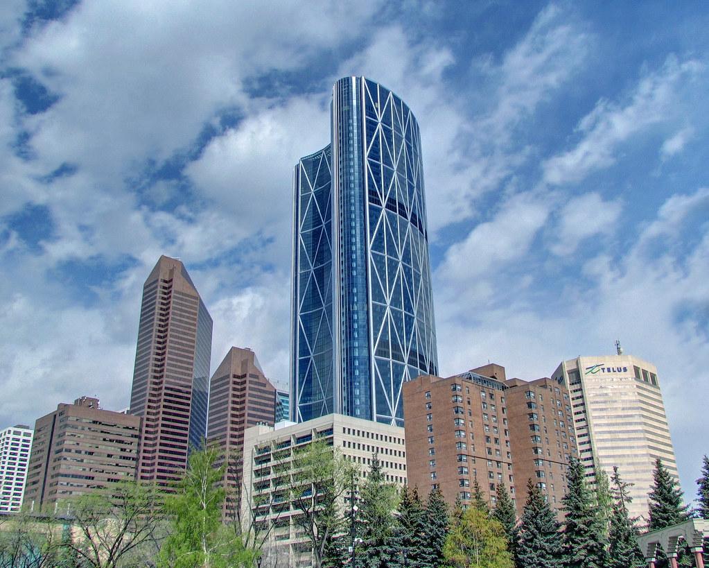 The Bow Tower Calgary S New Skyline Symbol Skycraper Is