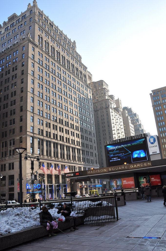 Hotel Pennsylvania And Madison Square Garden Entrance Flickr
