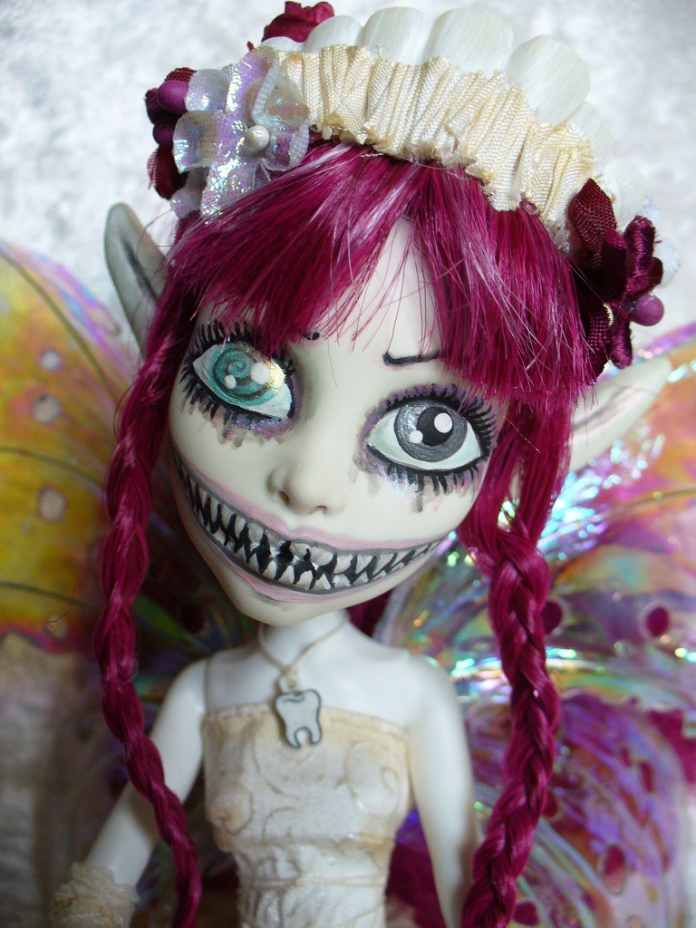 Ooak Custom Monster High Tooth Fairy Dentina Custom