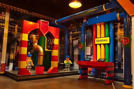 Legoland Kansas City Food