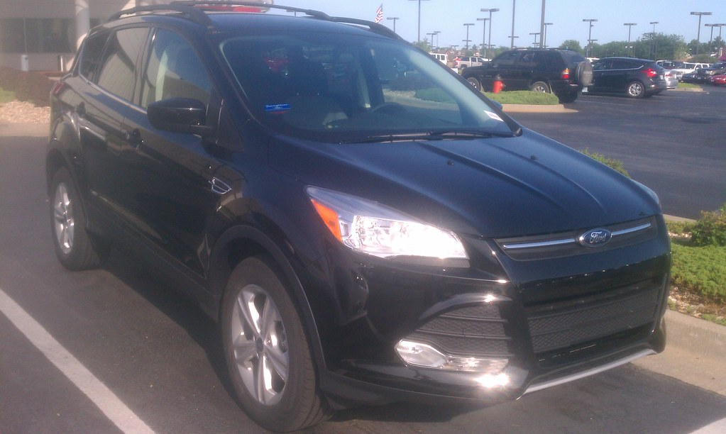 our first new 2013 ford escape thoroughbred ford kansas flickr. Black Bedroom Furniture Sets. Home Design Ideas