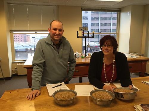 USDA Market News reporters Bartley Brogan & Carol Meinders