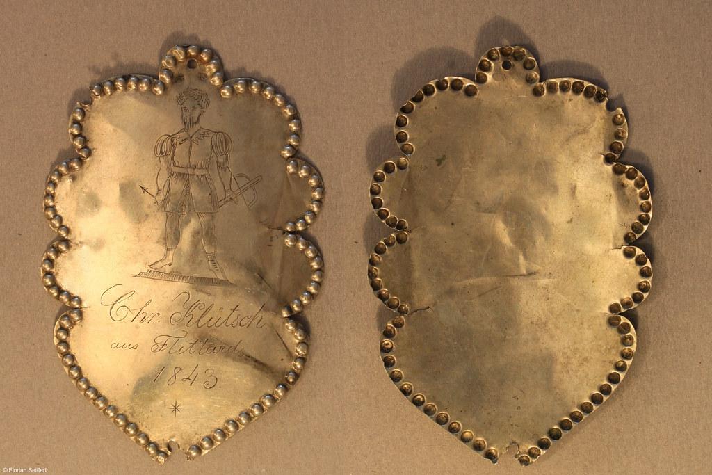 Koenigsschild Flittard von kluetsch chr aus dem Jahr 1843