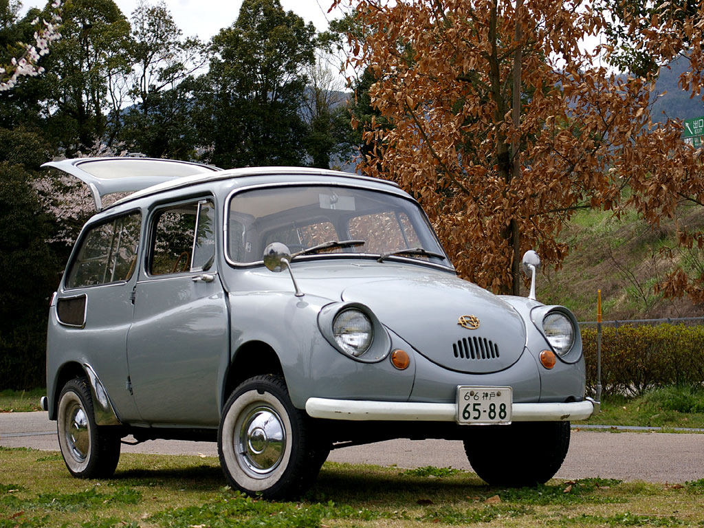 Subaru 360 Custom 2012 Inove Maron Flickr