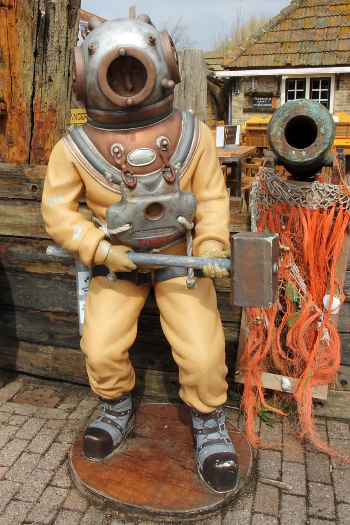 Vintage Diving Suit | Hans van der Boom | Flickr